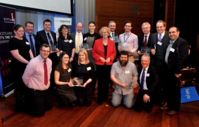 The Scottish Knowledge Exchange Awards winners