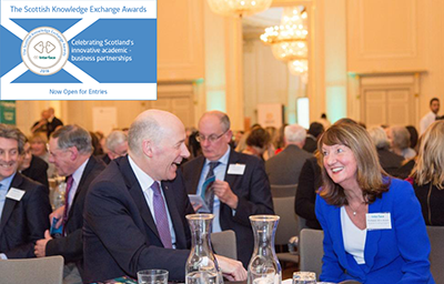 John Swinney and Alice Brown at the Interface Excellence Awards 2014