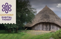 image of an Iron Age roundhouse