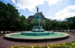 The Ross Fountain courtesy of Ross Development Trust