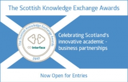 Logo for the Scottish Knowledge Exchange Awards