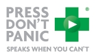 Press Dont Panic Audio Alerts Logo